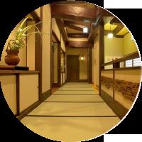 畳の廊下の写真