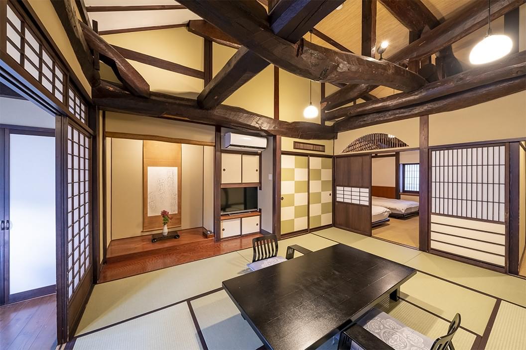 【檜内湯付和洋室】古民家風スイート山ぼうし庵・福寿草の画像1