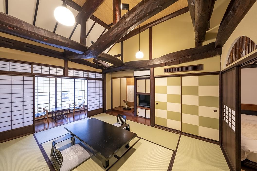 【檜内湯付和洋室】古民家風スイート山ぼうし庵・福寿草の画像4