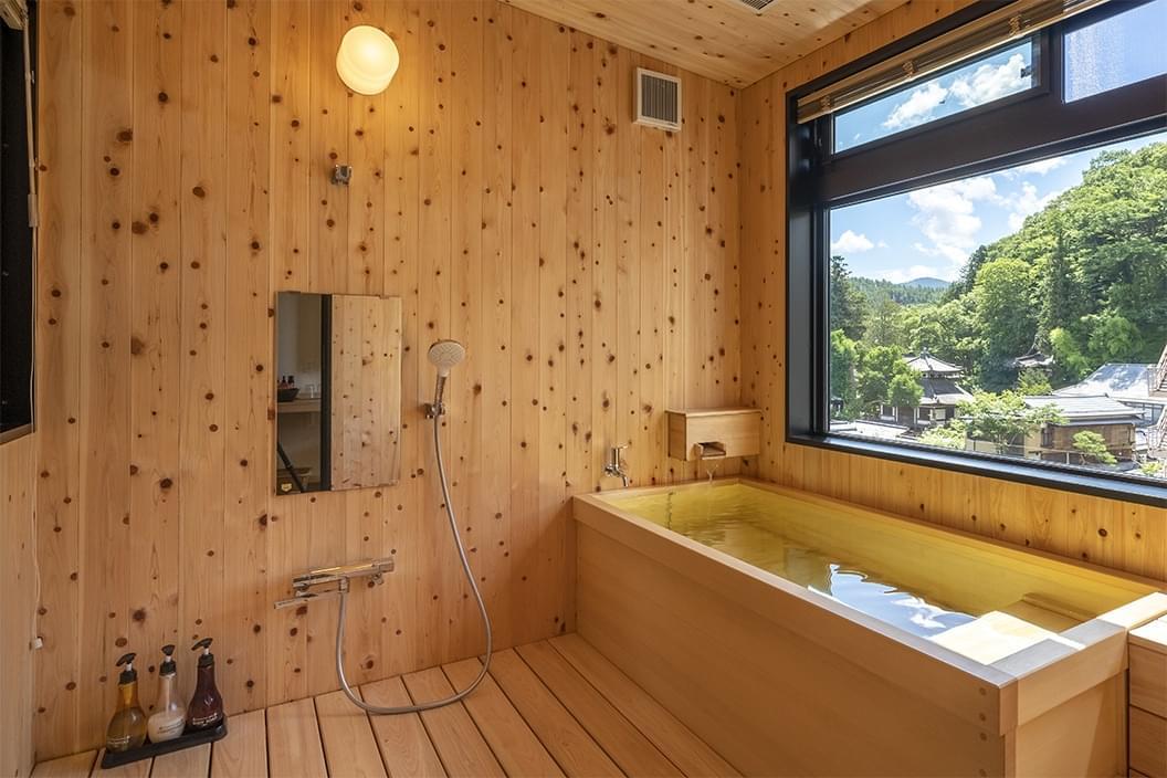 眺望かけ流し温泉付き【和洋室】の画像3