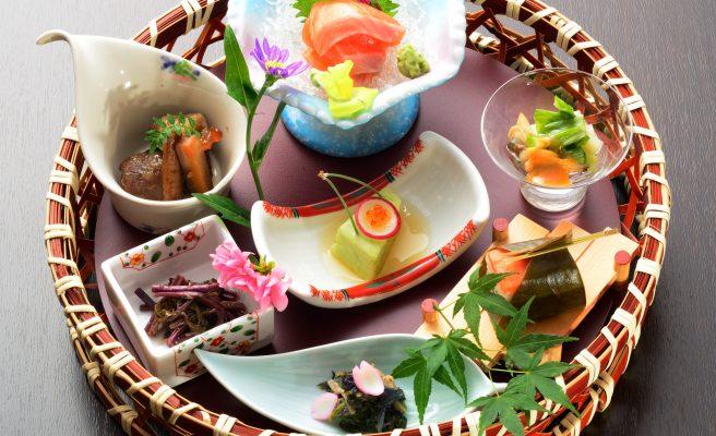 【秋限定】秋の華かご御膳【松茸土瓶蒸し付き】画像